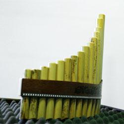 Stölzel Panflöte 31 15 Rohre C Bambus