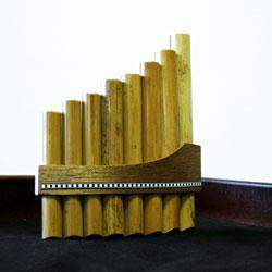 Stölzel Panflöte 8 Rohre C Bambus