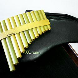 Stölzel Pro-Line Panflöte 12 Rohre C Bambus