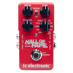 TC Electronic Tonprint Hall of Fame Reverb