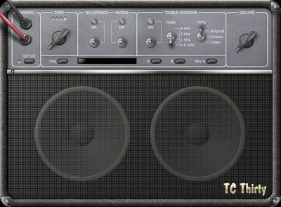 TC Electronic Thirty Virtual Guitar Amp