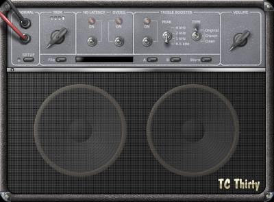 TC Electronic Thirty Virtual Guitar Amp