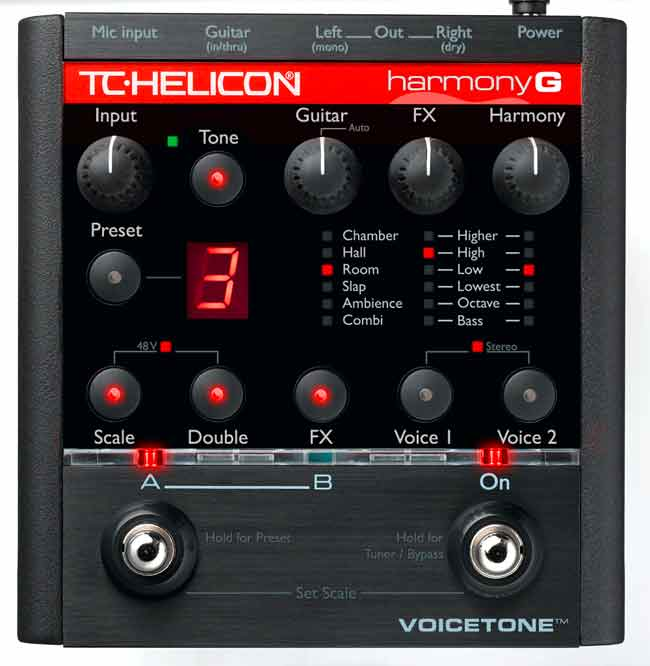 TC Helicon VoiceTone Harmony-G