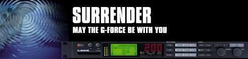 TC Electronic G-Force Effektgerät