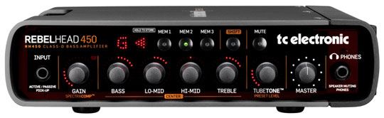 TC Electronic RebelHead 450 Bassverstärker