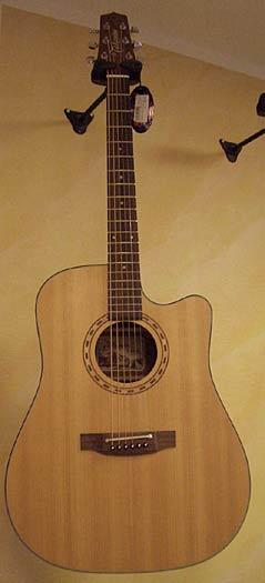 Takamine EF-340 SC NS Westerngitarre