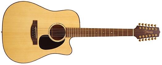 Takamine EG-345C 12-Saiter G-Series Dragon Westerngitarre
