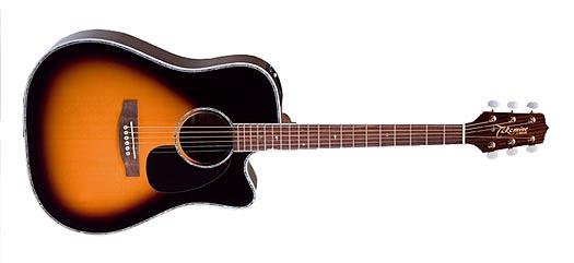 Takamine EG-360SCSB Sunburst G-Serie Dragon Westerngitarre