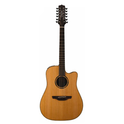 Takamine ETN-10-C-12-NS Westerngitarre 12string