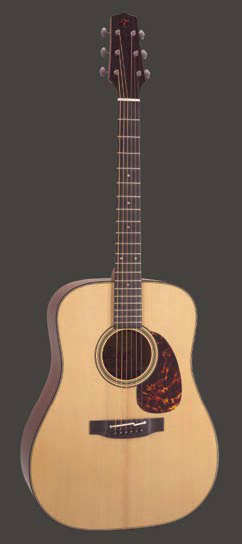 Takamine TF-340 SBG Flatpicker Dreadnought mit Cool Tube Preamp