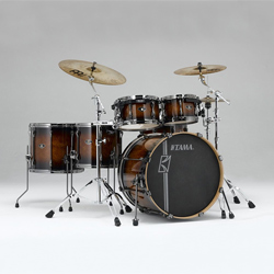 Tama SL62HZBN-EBB Superstar Custom Drumset Exotic Brown Burst