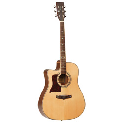 Tanglewood 115ASCELH Premier Westerngitarre Lefthand