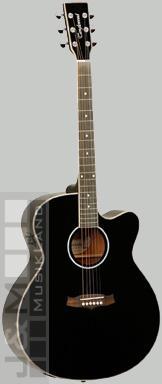 Tanglewood TSJCEBK Evolution Westerngitarre