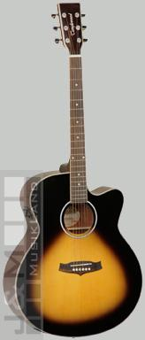 Tanglewood TSJCEVSLH Evolution Westerngitarre