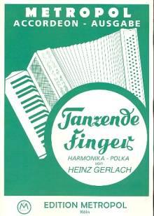 Tanzende Finger für Akkordeon