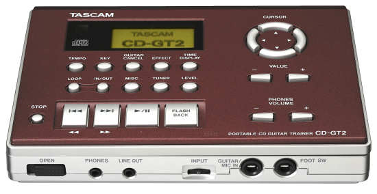 Tascam CD-GT2 Gitarren Trainer
