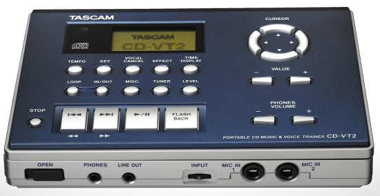 Tascam CD-VT2 Vocal Trainer
