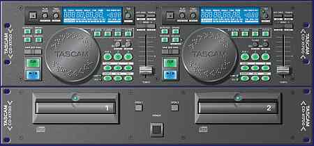 Tascam CD-X1700 Doppel CD Player