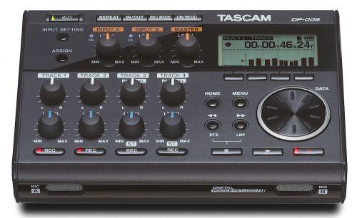 Tascam DP-006 SD-Karten-Recorder
