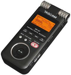 Tascam DR-07 tragbarer Recorder