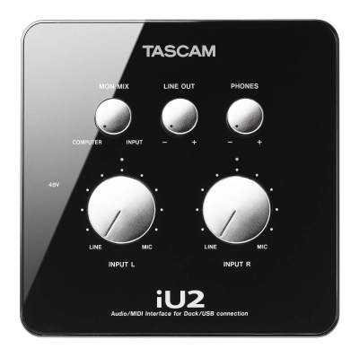 Tascam IU2 IPhone Interface