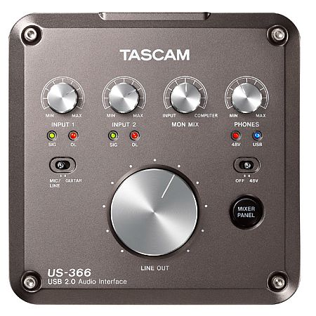 Tascam US-366 USB Interface 4In+6Out
