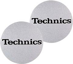 Technics Slipmat Logo Schwarz