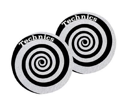 Technics Slipmat Spirale Silver