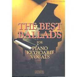 The Best Ballads for Piano, Keyboard, Vocals