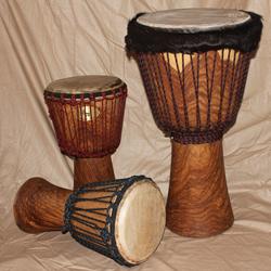 Thüne Percussion Profi Djembe 55/27 Mahagoni