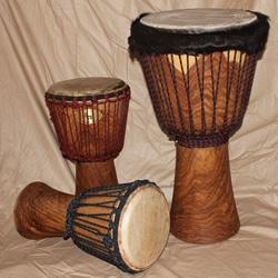 Thüne Percussion Profi Djembe 45/23-24 Palisander