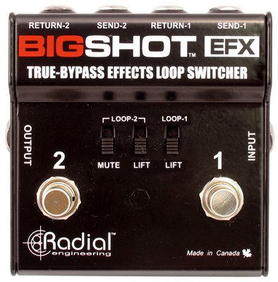 ToneBone Big Shot EFX - Effects Loop Switcher