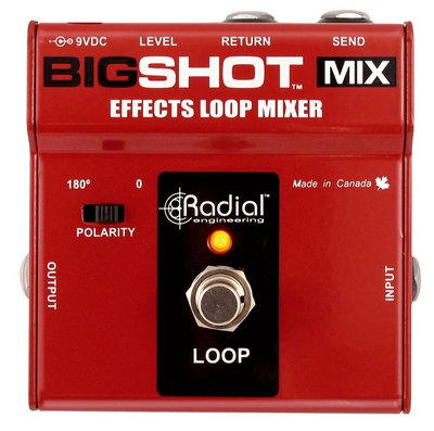 ToneBone Big Shot MIX - Effekt Loop Mixer