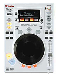 Vesatx CDR-07 CD-RW Recorder white