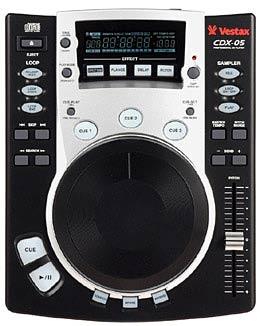 Vestax CDX-05 Single CD-Player