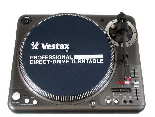 Vestax PDX-3000 Mix Servo Torque Turntable MIDI