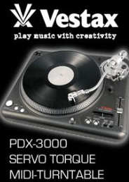 Vestax PDX-3000 Turntable