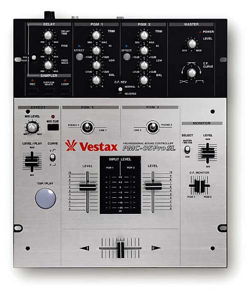 Vestax PMC-05 PRO SL Mixer