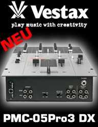 Vestax PMC-05 Pro III DX Mixer