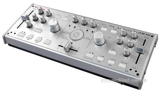 Vestax VCM-100 USB Controller / Audiointerface inkl. Tracktor lite