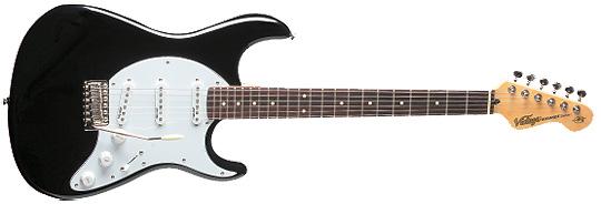 AV 6 SBB E-Gitarre boulevard Black