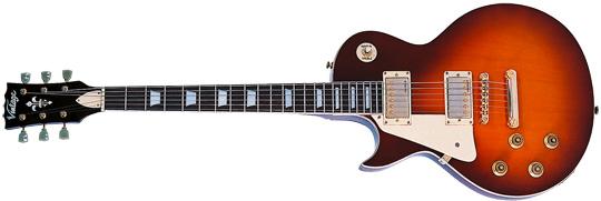 Vintage LV100TSB E-Gitarre Lefthand