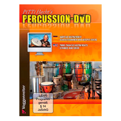 Voggenreiter PiTTi Hecht's Percussion DVD