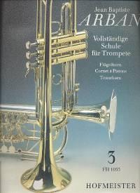 Vollständige Schule für Trompete 3 - Jean Baptiste Arban