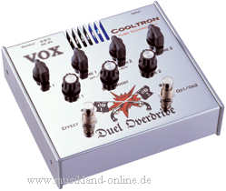 Vox Cooltron Duel Overdrive