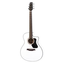WALDEN Concorda CG570WCE White Westerngitarre