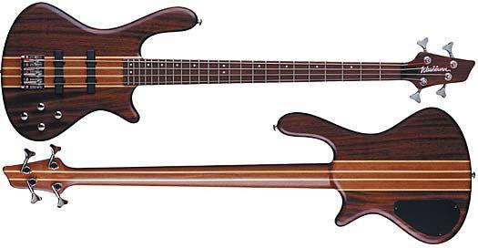 Washburn T-24 NM E-Bass inkl. Deluxe Gig-Bag