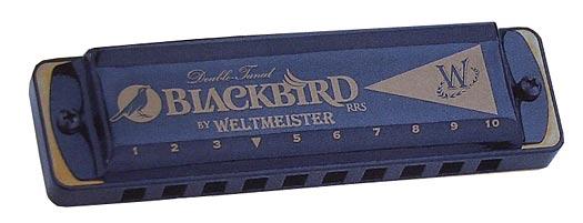 Weltmeister Mundharmonika Blackbird in C Dur