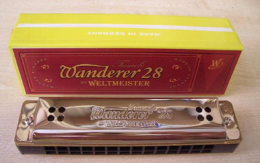 Weltmeister Mundharmonika Wanderer 28
