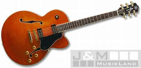 Yamaha AES-1500 Orange Semi Hollow